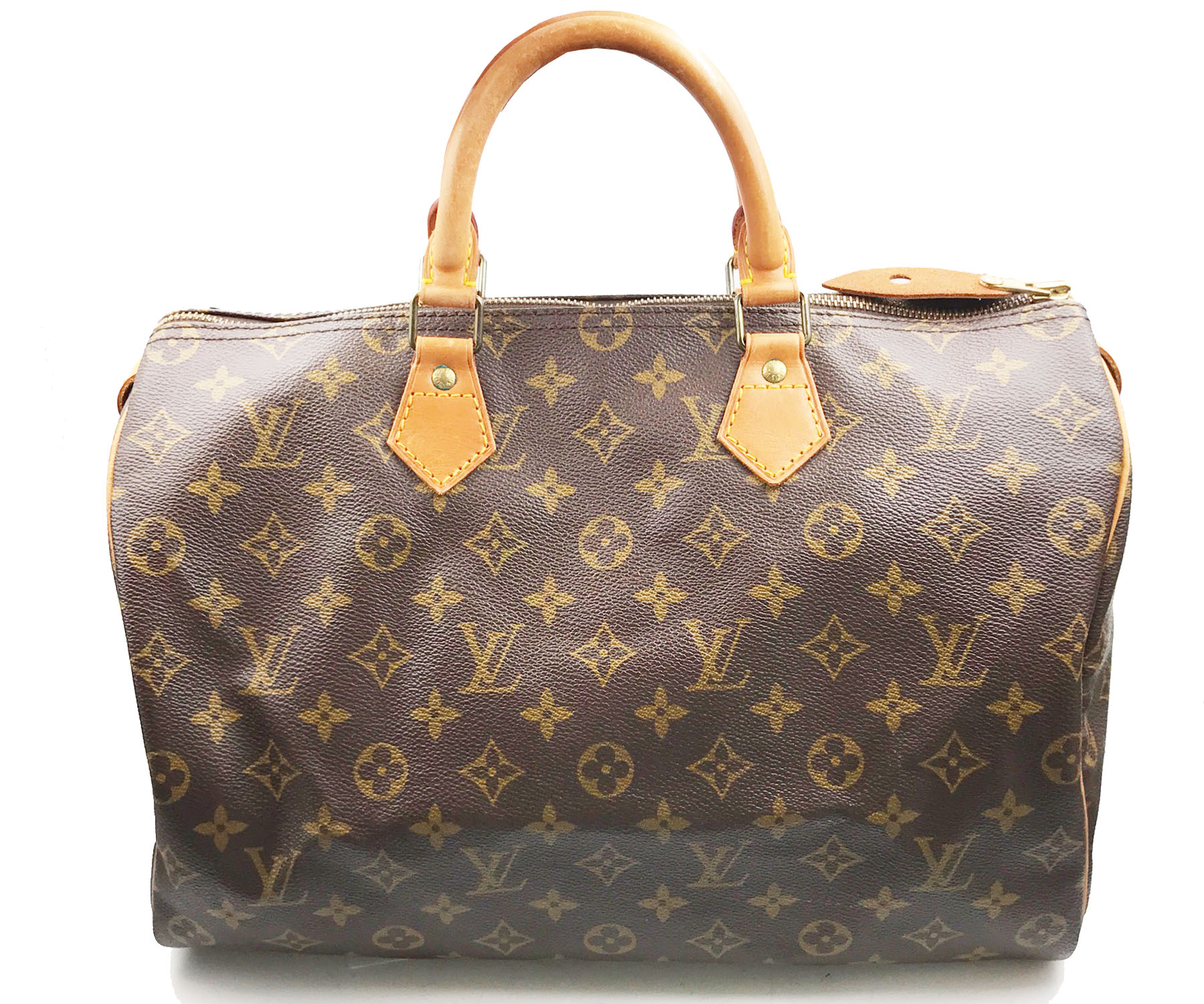 louis vuitton vintage monogram speedy 35 handbag lar vintage. Black Bedroom Furniture Sets. Home Design Ideas