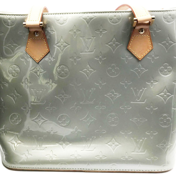 743f90daf26 Louis Vuitton Vernis Silver Patent Leather Tote Shoulder Bag - LAR ...