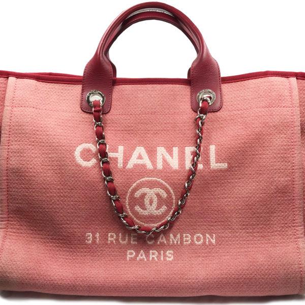 253c53f9b3 Chanel Red Denim Deauville Large Tote Bag 1580 - LAR Vintage